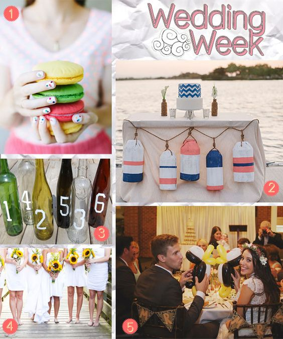 Wedding Round Up Clever Crafty And Cool Ideas Creative