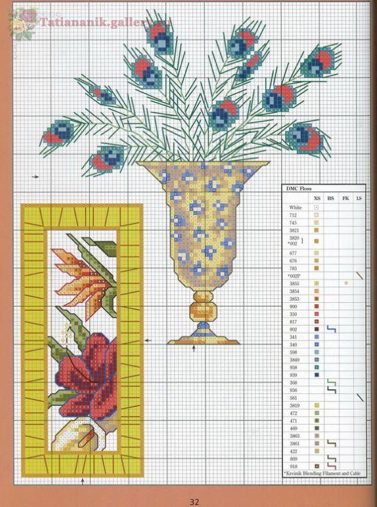 Gallery.ru / Фото #26 - *Marie Barber*Cross-Stitch Florals - Tatiananik