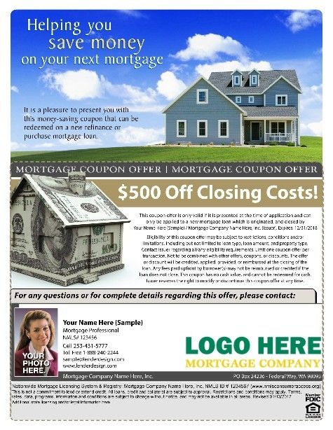 Mortgage Lender Flyer Templates