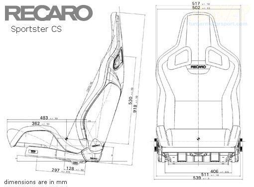 Recaro Sportster Cs Sport Seat Turner Motorsport Asientos De Carro Asientos De Autos Audio De Automoviles