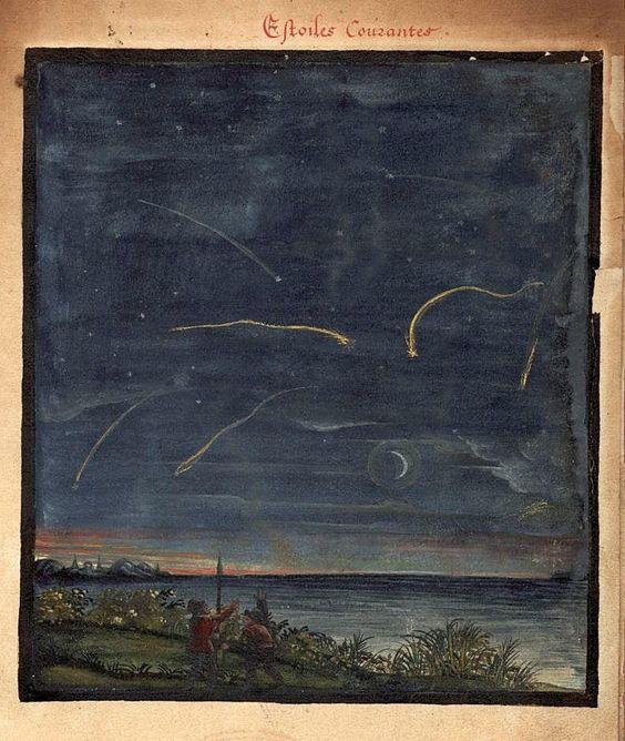 All sizes | 001-LLuvia de estrellas-Kometenbuch -1587-Universitätsbibliothek Kassel | Flickr - Photo Sharing!