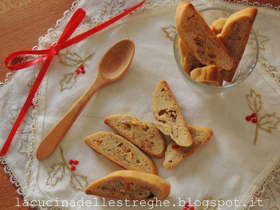 """La cucina delle streghe: Biscottini """"miele e noci"""" di nonna Mercedes"""