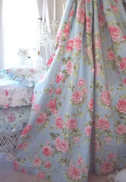 Cottage Colors Ruffle Shower Curtain Pink Roses Pinterest Pink Roses Egg