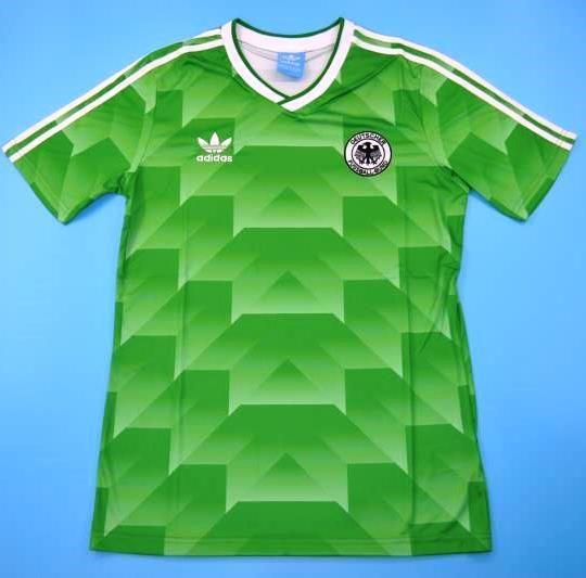 World Cup 1990 Germany Green Soccer Jersey Soccer Jersey Soccer Jersey