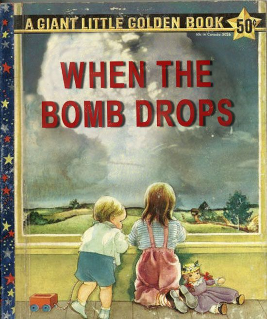 How to tell your kids about nuclear bombs, airstrikes and and weapons of mass destruction.: