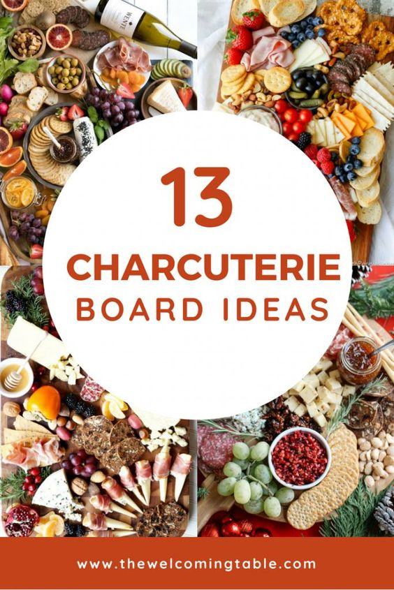 If you're looking for charcuterie board ideas, you've got to check out these 13 themed charcuterie boards! They are an easy way to up your hostessing game. #thewelcomingtable #charcuterie #charcuterieandcheese #charcuterieboards #charcuterieboardideas #ea