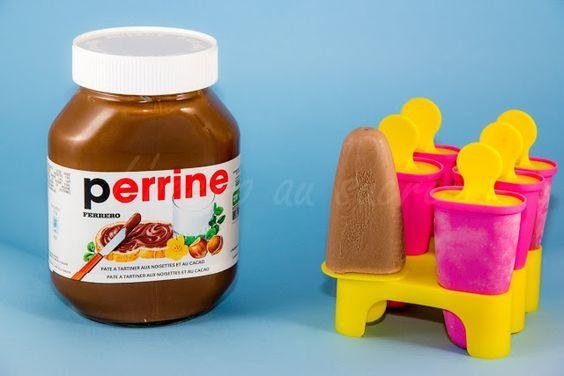 L'Accro au sucre a un blog: Mes esquimaux glacés au Nutella!