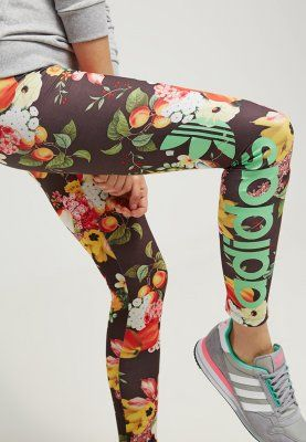 adidas tights original flowers