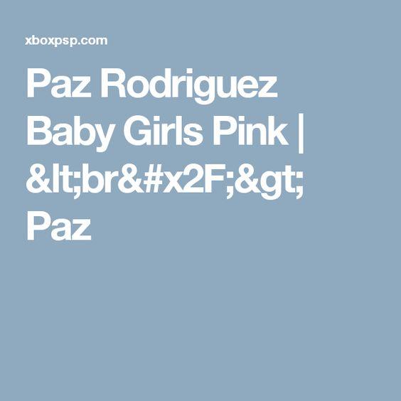 Paz Rodriguez Baby Girls Pink  |  <br/>    Paz