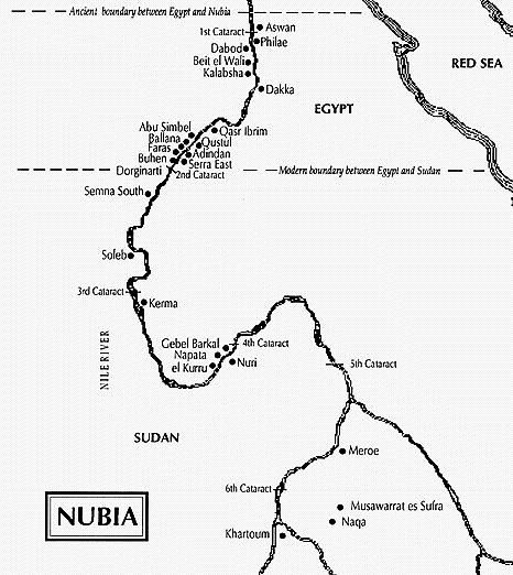 Herodotus Egyptians Black Nubia Was Also Called Upper Lower - Map of egypt and nubia