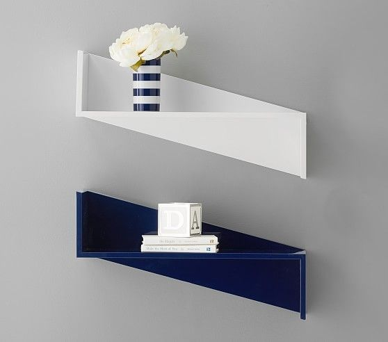 Zig Zag Wall Shelves With Images Wall Shelves Zig Zag Wall Kids Wall Shelves