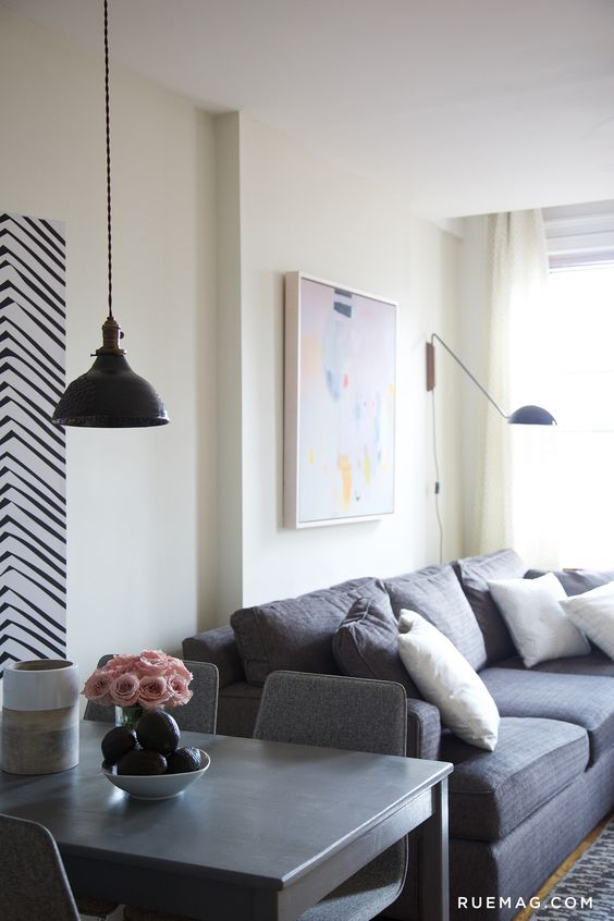 5 Things We Learned from this Small Space Makeover by Nate Berkus | Rue