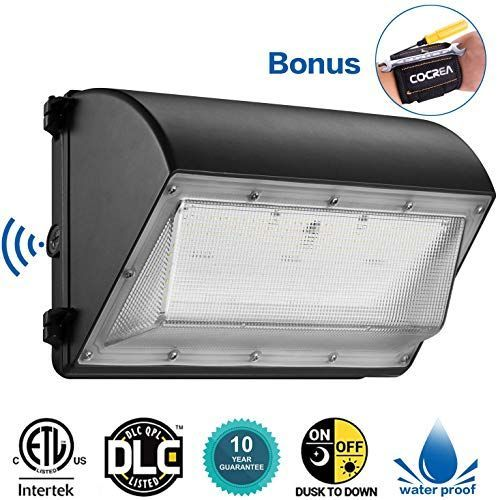 New Dusk Dawn Led Outdoor Lighting 100w Led Wall Pack Photocell 5000k 12 000lm 100 277vac Waterproof Comme In 2020 Led Outdoor Lighting Wall Packs Outdoor Lighting
