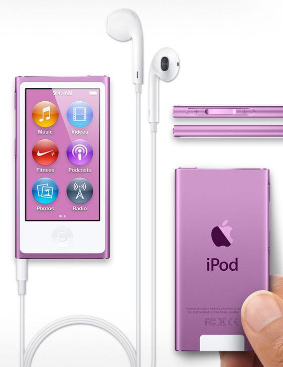 The new iPod Nano // lavender