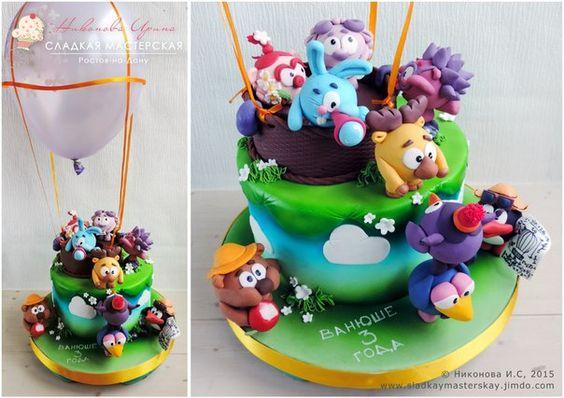 Торты на заказ детские y.if фото