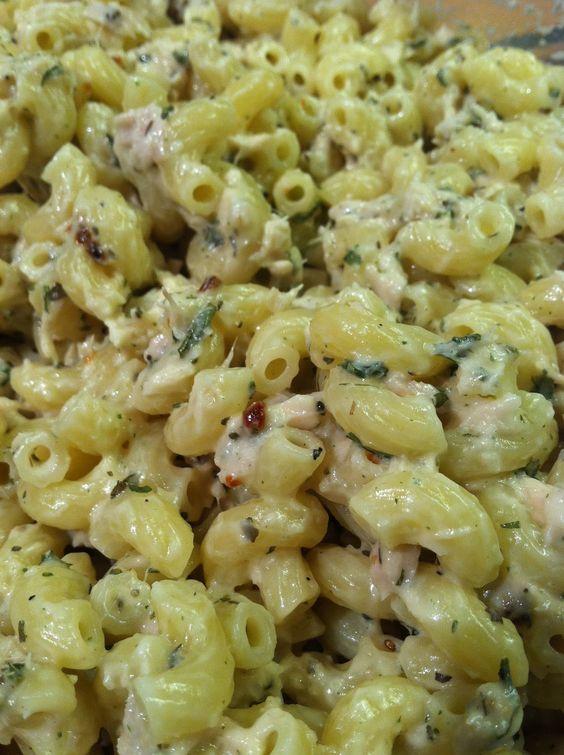 Side dish - tuna pasta salad. the most amazing side dish ...