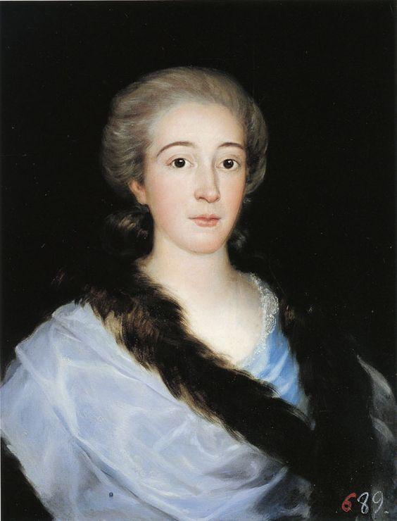 Francisco Goya, 1783 - - - Maria Teresa de Vallabriga y Rozas