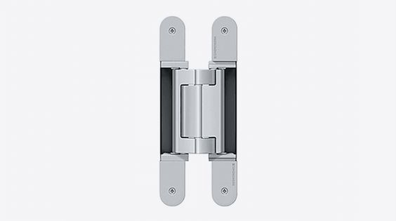 Tectus TE 640 A8 3D Concealed hinge. Product Details: Standard load: Maximum door weight 160 kg (353 Lbs.) per pair Residential and commercial use Easy installation UL Listed Fire Rated for 20 Minutes