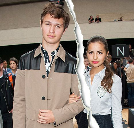 from Harlan ansel elgort dating status