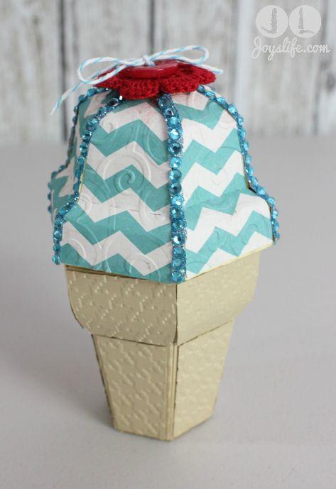 Ice Cream Cone Gift Box at joyslife.com