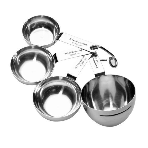 KitchenAid Stainless Steel Measuring Cups | Shopko.com