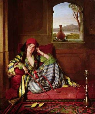 John Frederick Lewis - Favourite of the Harem