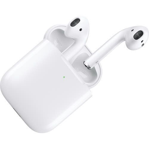 Apple Airpods With Wireless Charging Case 2nd Generation Bluetooth Earbuds Wireless Wireless Headphones Headphones
