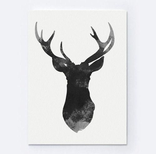 deer head drawing tumblr -#main