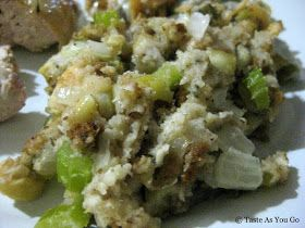 Apple Chestnut Stuffing | Taste As You Go | Food | Pinterest ...