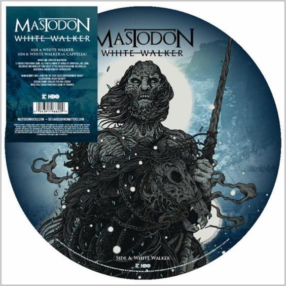 Mastodon – White Walker (single cover art)