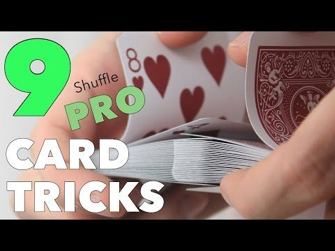 Top 9 Easy Pro Card Tricks To Shuffle The Cards In Your Hands