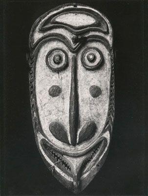 Maske, 1940er Jahre