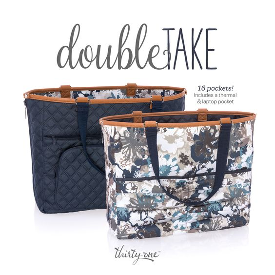 August 2017 Hostess Special  Double Take Tote