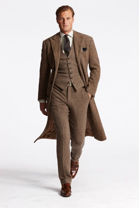 Exclusive First Look: Ralph Lauren Fall 2013 | Ralph lauren, Suits