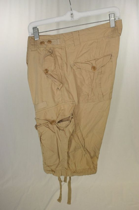 Diesel Tan Cargo Shorts Button Fly (Men's 33) 2199 #DIESEL #Cargo