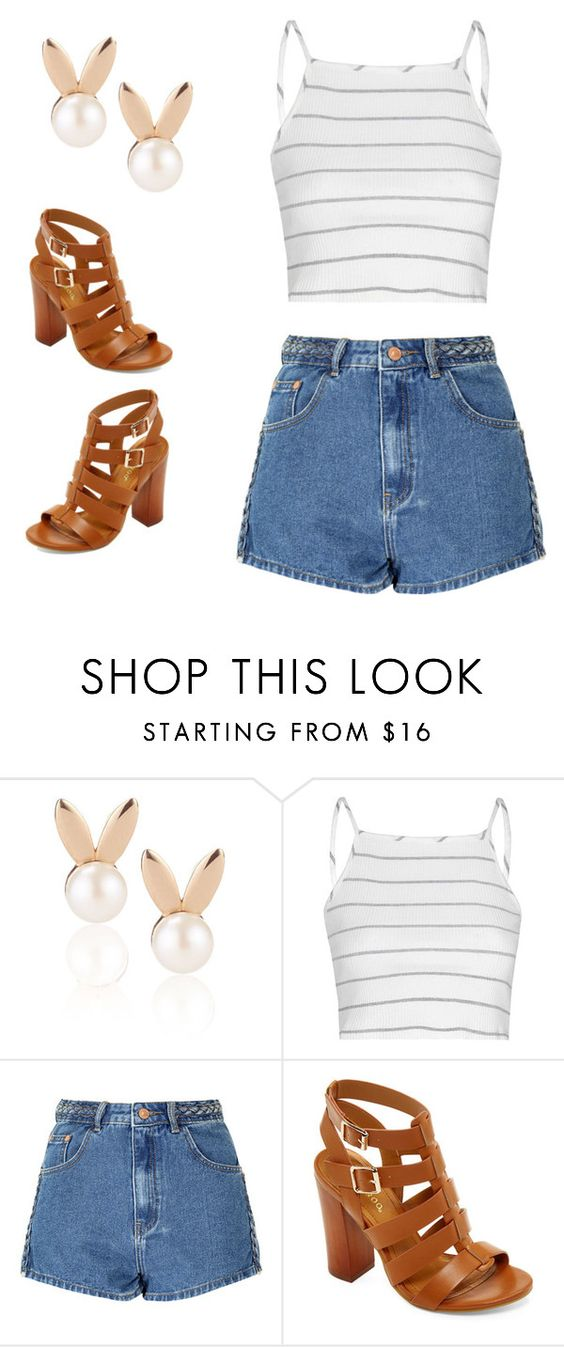 """""""Untitled #1187"""" by kiky-miskovic ❤ liked on Polyvore featuring Aamaya by priyanka, Glamorous and Bamboo"""