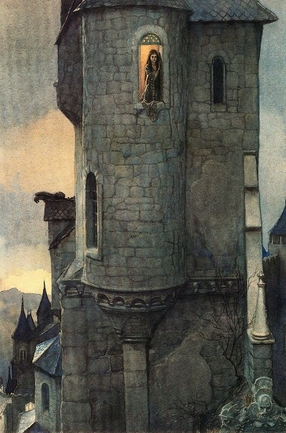 alan_lee_castles_childe rowland and burd ellen.jpg (1056×1600)