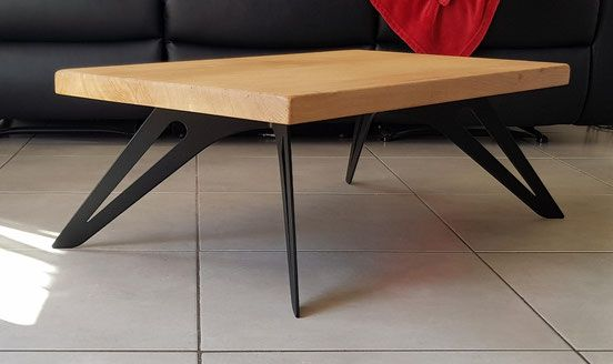 pied de table basse en metal 100 made