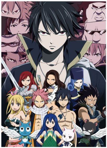 Amazon.com: Anime Fairy Tail - High Grade Laminated Poster: Toys & Games