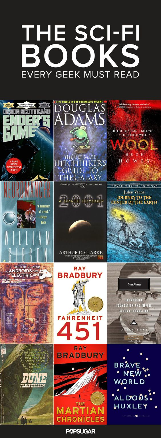Looking for a new read? These Sci-Fi books are a must!