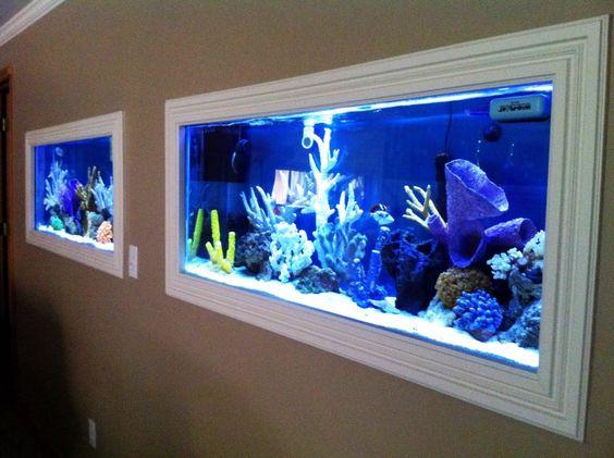 best aquarium design ideas aquarium design pinterest. Black Bedroom Furniture Sets. Home Design Ideas