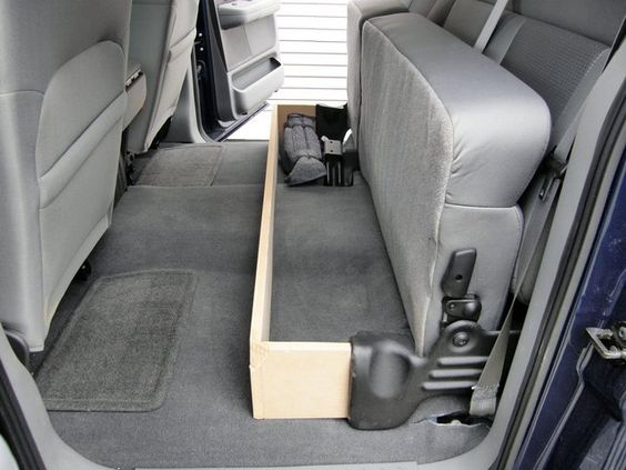 I Made An Underseat Storage Box F150online Forums Landscaping Pinterest Bo And