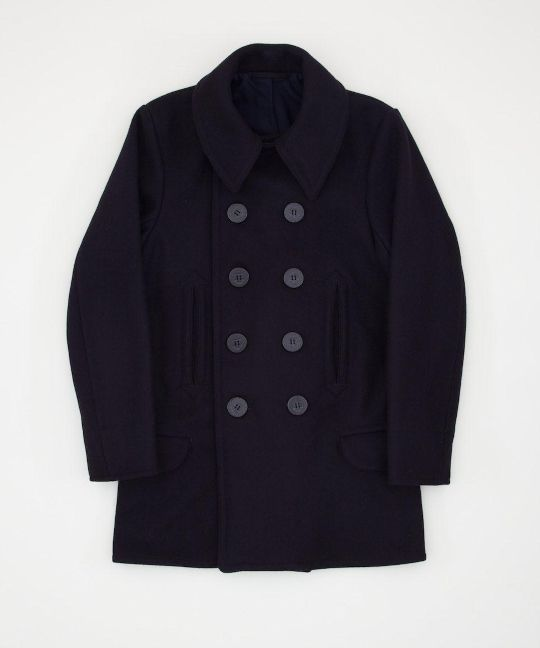 THE REAL MCCOY'S US NAVY PEA COAT 1913 EDITION A reproduction of a ...