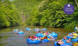 Groupon - River-Tubing Excursion for One, Four, or 15 from RiverGirl Fishing Company (Up to 54% Off) in Historic Todd. Groupon deal price: $10