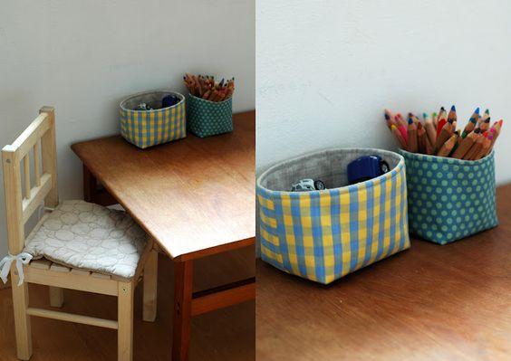 chair cushion - bubble quilting