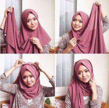 Tutorial Hijab Segitiga Tanpa Ninja Blog Lif Co Id