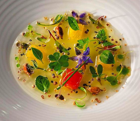 "Alex Atala - DOM Restaurant, Sao Paulo Brazil… @melancia melancia va amar  Imperial friend and amazing chef - the food looks like art, the art tastes delicious  ps - click through for an amazing version of ""Palco"" by Djavan…:"