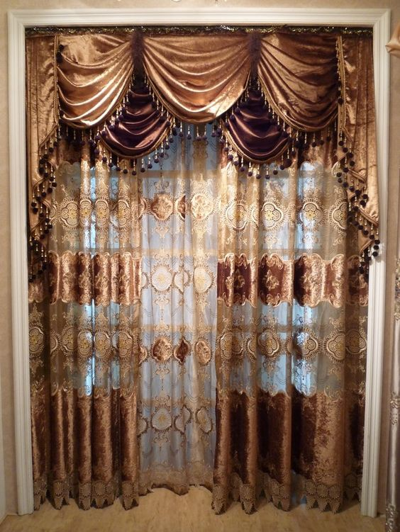 luxury leopard curtains - Google Search | Curtains | Pinterest ...