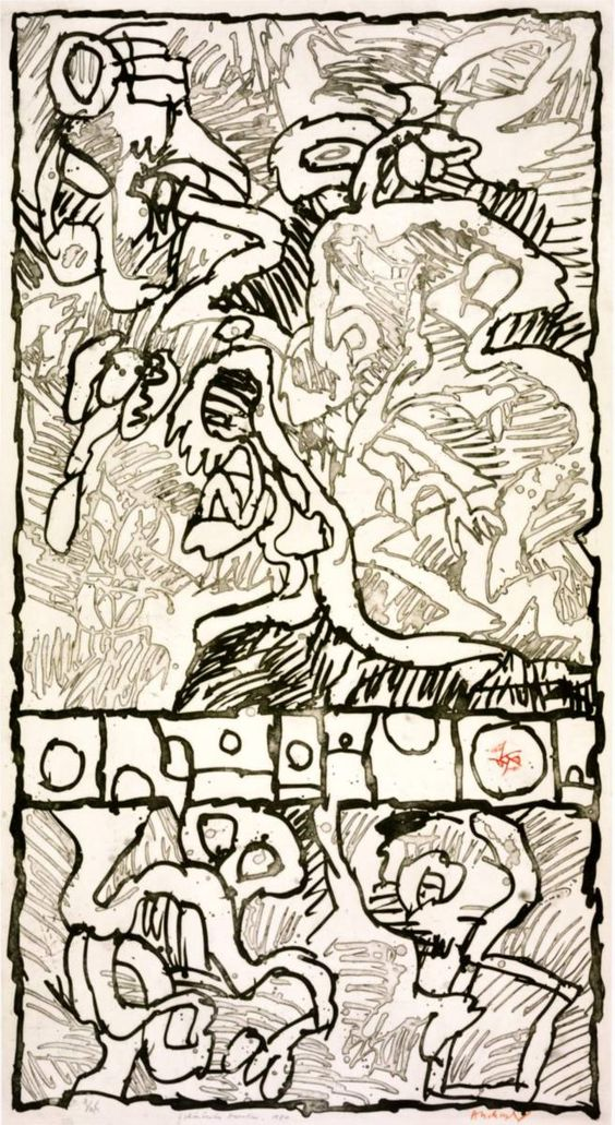 Pierre alechinsky pierre alechinsky pinterest for Alechinsky lithographie