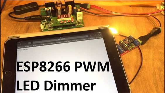 Esp8266 Pwm Led Dimmer 12v Solar Shed Led Dimmer Dimmer Led
